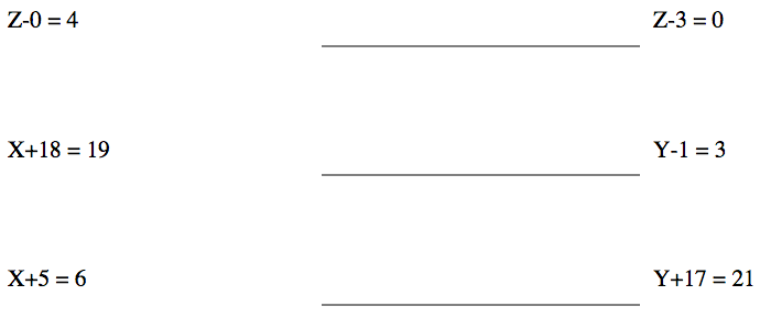 Common Worksheets » Addition And Subtraction Equations Worksheets ...